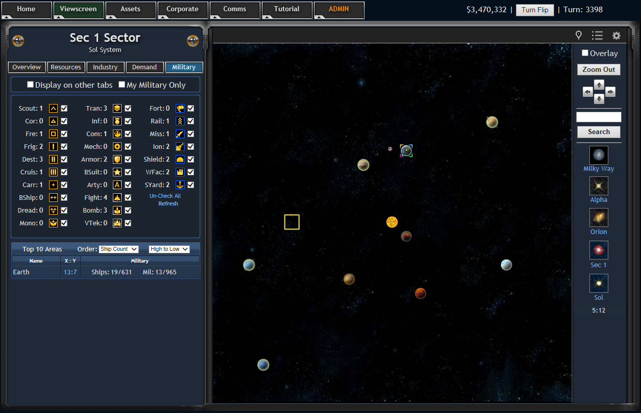 Barons of the Galaxy Screenshot 15